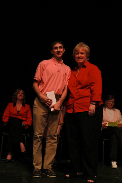 Student Leadership, Service and Volunteerism Recognition Program; Aprl 26, 2011. Mathematics Service Award: Josh Bridges
