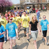Tribune-Star/Rachel Keyes<br /> Off we go: Homeward Bound sponsored a walk for the homeless Sunday to benefit local agencies that supply emergency food relief and care for Indiana's homeless.
