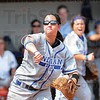 Tribune-Star/Rachel Keyes<br /> Play maker: Indiana State's Bailey Wittenauer makes a quick throw to first for an out in action on Sunday against Evansville.