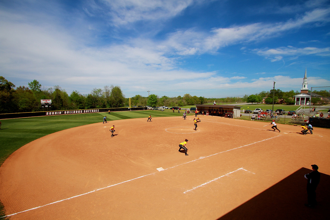 Softball v Winthrop; April 2011