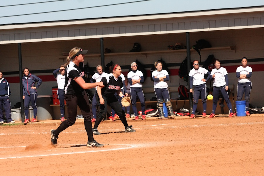 Cindy Boomhower with the pitch.