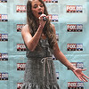 Tribune-Star/Rachel Keyes<br /> Try-out: Alexa McFadden added her voice to a number of valley residents trying-out for a chance to be on Simon Cowell new talent show the X-Factor Saturday at Honey Creek Mall.