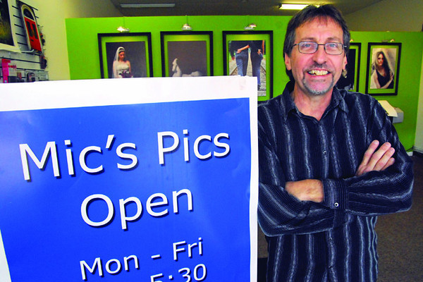 Mic: Mic Orman has relocated his photography business to 667 Wabash Avenue.