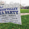 Tribune-Star/Rachel Keyes<br /> Still here: The Wabash Valley Tea Party held a Tax Day Rally at Fairbanks Park they had over one hundred people in attendance.