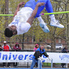 Tribune-Star/Jim Avelis<br /> Personal best: Major Clay cleared a personal best height of 7 feet 3 1/4 inches Saturday.