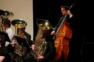 Symphonic band concert; April 14, 2011.