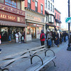 Packed to the gills: To get into the storefront of Carlo's City Hall Bake Shop, visitors take a number and wait to be called inside. Once there, the hunt for cakes and pastries under glass is a shoulder-to-shoulder situation. Tribune-Star/Mark Bennett