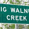 Sign: Big Walnut Creek sign detail.