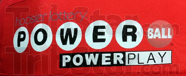 Logo: detail photo of Powerball logo.