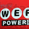 Logo: detail photo of Powerball logo.