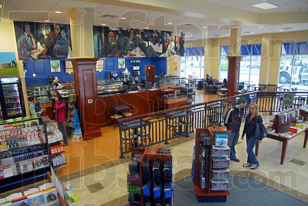 Bookstore: Interior of new Barnes & Noble bookstore.