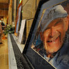 Tribune-Star/Jim Avelis<br /> Remembering: A photograph of Father Joe Kern was part of the memoribilia on hand at his wake Monday evening at St. Margaret Mary Church.