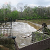 Tribune-Star/Rachel Keyes<br /> Flooded banks: Mill dam is showing signs of flooding as the Wabash Valley is bracing for more rain.