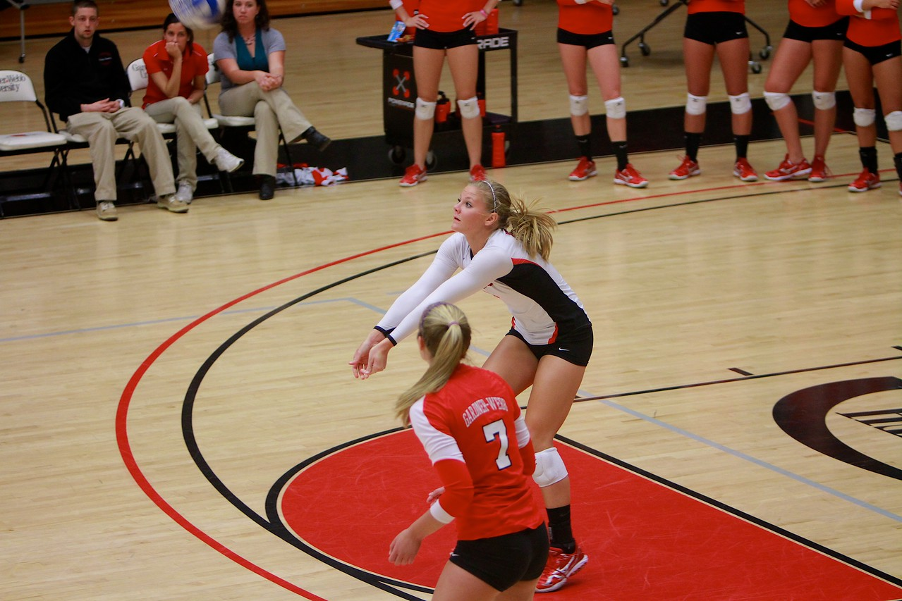 Volleyball v. Wofford; April 2011.