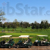 Tribune-Star/Jim Avelis<br /> Ready to roll: Golf carts sit ready for golfers at Rea Park Tuesday afternoon.
