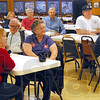 Bucshon town hall: A group of about 40 people attended the town hall event Tuesday with Dr. Larry Bucshon.