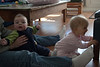 Baby train with Alex!