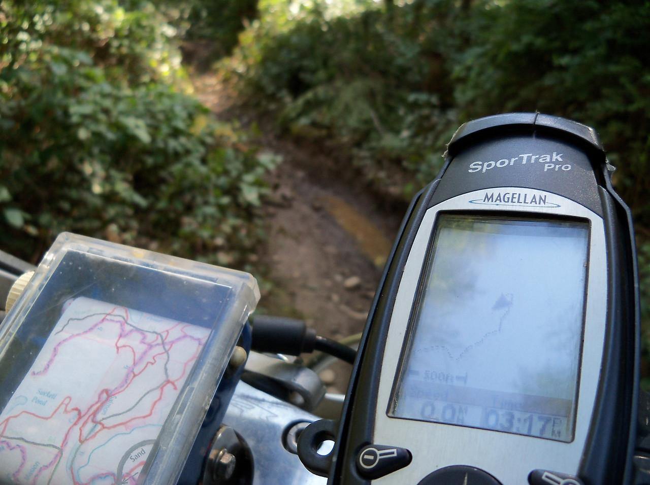 Friday just Sylvia & I went trail riding..