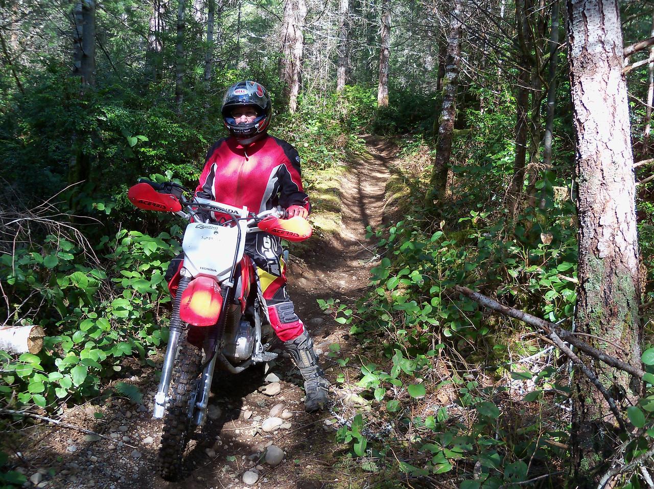 Hurd Side trails in the Tahuya...