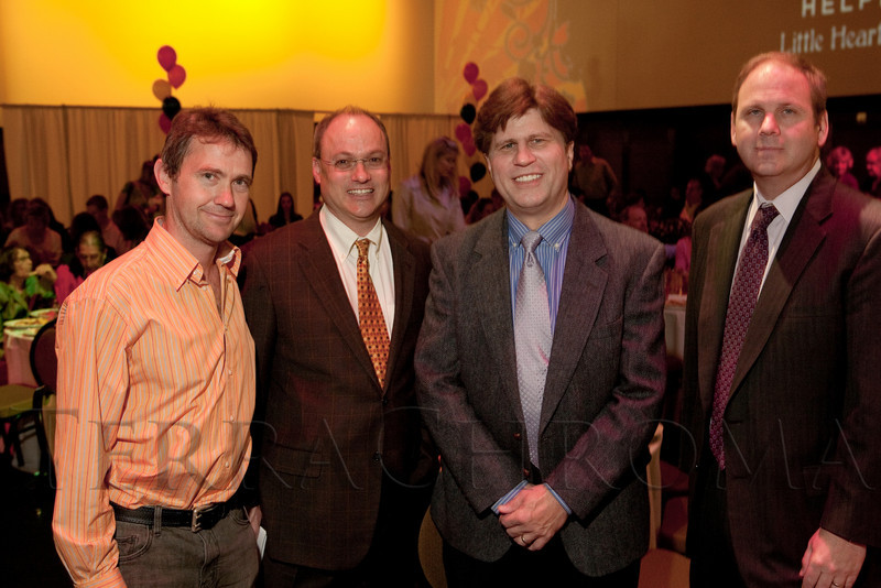 (Denver, Colorado, April 8, 2011)<br /> Tom Whitten, Dr. Dunbar Ivy, Terry Wyles, and Dr. James Jaggers.  The 2011 Little Hearts Luncheon and Fashion Show, benefiting The Children's Hospital Heart Institute, at the Infinity Park Event Center in Denver, Colorado, on Friday, April 8, 2011.<br /> STEVE PETERSON