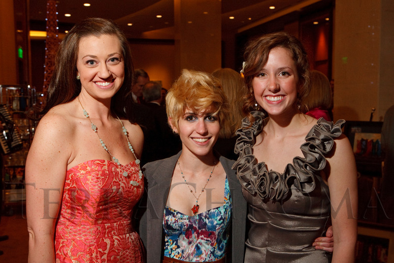 "(Denver, Colorado, April 16, 2011)<br /> Kate Petrocco, Hannah Wolfman, and Carly Stafford.  ""la vie en Rose,"" a benefit for the Epilepsy Foundation of Colorado and the Jason Fleishman Summer Camp, at the Four Seasons Hotel Denver in Denver, Colorado, on Saturday, April 16, 2011.<br /> STEVE PETERSON"
