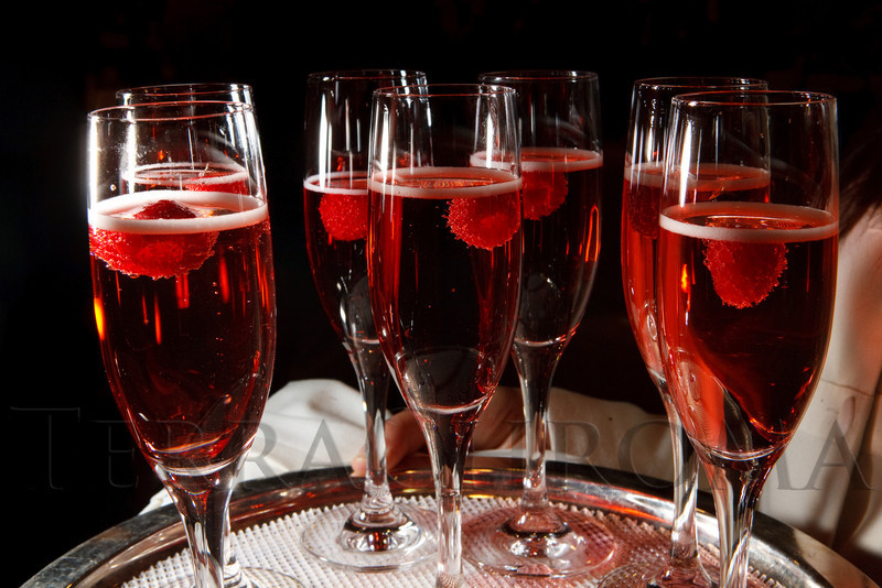 "(Denver, Colorado, April 16, 2011)<br /> Champagne with raspberry liqueur.  ""la vie en Rose,"" a benefit for the Epilepsy Foundation of Colorado and the Jason Fleishman Summer Camp, at the Four Seasons Hotel Denver in Denver, Colorado, on Saturday, April 16, 2011.<br /> STEVE PETERSON"