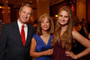 "(Denver, Colorado, April 16, 2011)<br /> Peter, Brenda, and Jackie (daughter) Plowshay.  ""la vie en Rose,"" a benefit for the Epilepsy Foundation of Colorado and the Jason Fleishman Summer Camp, at the Four Seasons Hotel Denver in Denver, Colorado, on Saturday, April 16, 2011.<br /> STEVE PETERSON"