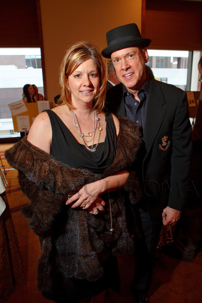 """(Denver, Colorado, April 16, 2011)<br /> Tiffany Schafer models a fur donated for auction by Dan Sharp.  """"la vie en Rose,"""" a benefit for the Epilepsy Foundation of Colorado and the Jason Fleishman Summer Camp, at the Four Seasons Hotel Denver in Denver, Colorado, on Saturday, April 16, 2011.<br /> STEVE PETERSON"""