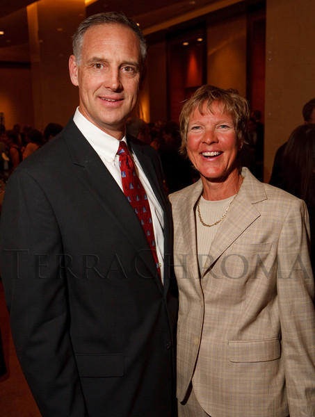 "(Denver, Colorado, April 16, 2011)<br /> Scott and Diane Van Deren.  ""la vie en Rose,"" a benefit for the Epilepsy Foundation of Colorado and the Jason Fleishman Summer Camp, at the Four Seasons Hotel Denver in Denver, Colorado, on Saturday, April 16, 2011.<br /> STEVE PETERSON"