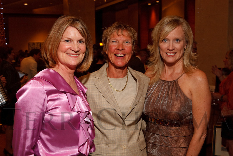 "(Denver, Colorado, April 16, 2011)<br /> Gail Pundsack, Diane Van Deren, and Candy Palazzo.  ""la vie en Rose,"" a benefit for the Epilepsy Foundation of Colorado and the Jason Fleishman Summer Camp, at the Four Seasons Hotel Denver in Denver, Colorado, on Saturday, April 16, 2011.<br /> STEVE PETERSON"
