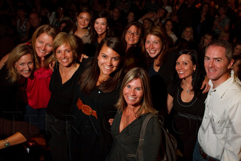 (Denver, Colorado, April 22, 2011)<br /> Some of the team with The Children's Hospital Burn Center.  The 7th Annual Colorado Firefighter Celebrity Judging Event at Exdo Event Center in Denver, Colorado, on Friday, April 22, 2011.<br /> STEVE PETERSON