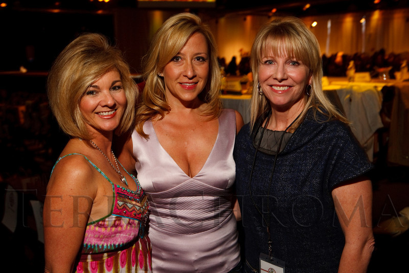 (Denver, Colorado, April 22, 2011)<br /> Julie James, Shari Canon, and Kirsten Hamling.  The 7th Annual Colorado Firefighter Celebrity Judging Event at Exdo Event Center in Denver, Colorado, on Friday, April 22, 2011.<br /> STEVE PETERSON