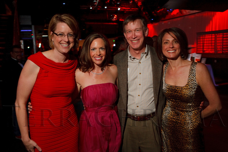 "(Denver, Colorado, April 29, 2011)<br /> Lisa Merlino, Catherine Goodwillie, John Hickenlooper, and Diane Reed.  ""Invest In Kids"" event at Exdo Event Center in Denver, Colorado, on Friday, April 29, 2011.<br /> STEVE PETERSON"