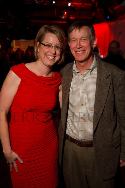 "(Denver, Colorado, April 29, 2011)<br /> Lisa Merlino and John Hickenlooper.  ""Invest In Kids"" event at Exdo Event Center in Denver, Colorado, on Friday, April 29, 2011.<br /> STEVE PETERSON"