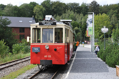 Tram at Érizee