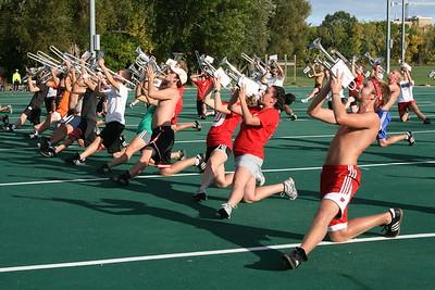 2011  At the practice field - Oct 2011