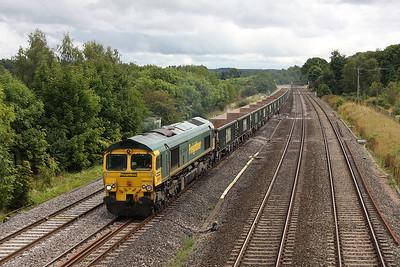 66552 Lower Basildon 26/08/11 6V87 Crawley to Bristol Barrow Road