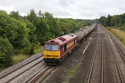 60065 Lower Basildon 26/08/11 6E55 Theale to Lindsey
