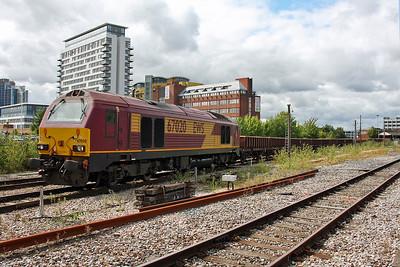67020 Basingstoke 30/08/11 6Z52 Hinksey to Hinksey