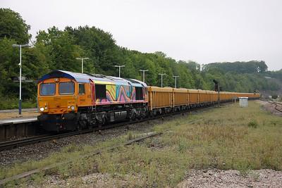 66720 Micheldever 23/08/11 6O96 Mountsorrel to Eastleigh