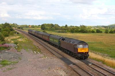 47500 Shrivenham 06/08/11 5Z92 Southall to Bristol
