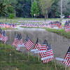 Tribune-Star/Jim Avelis<br /> 6,000: About six thousand flags will be in place around the Indiana Mile at Memorial Stadium for the Run for the Fallen Saturday.