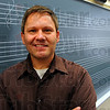 Tribune-Star/Jim Avelis<br /> In tune: Dan Tryon teaches music at Honey Creek Middle School and is director of the Terre Haute Children's Choir.