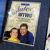 Memorabilia: Detail of Jerry Lewis posters from years past.