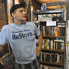 Tribune-Star/Rachel Keyes<br /> Restoring hope: Habitat for Humanity ReStore Manager Larry Dull talks about the recent changes in the store and the stores mission to help homeowners.
