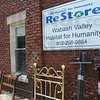 Tribune-Star/Rachel Keyes<br /> Local resale: The Habitat for Humanity ReStore located on Wabash and 19th Street goal is to help home owners and Habitat for Humanity provide homes for local citizens.