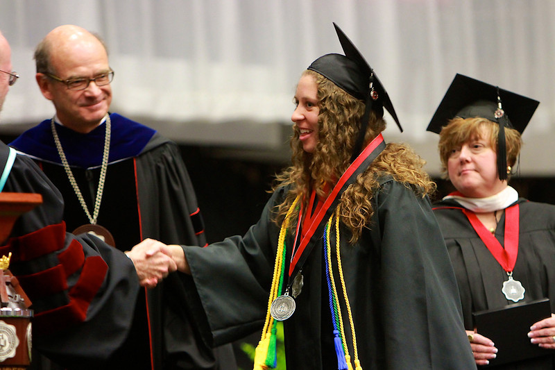 Summer Commencement Ceremony; August 8, 2011.