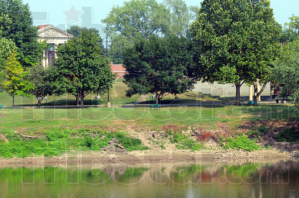 "Tribune-Star/Jim Avelis<br /> Big plans ahead: Plans are in the works for making 2013 ""The year of the River"". One goal is to build on established initiatives and generate even more interest in the Wabash River. This is a view of Fairbanks Park seen from the west bank."