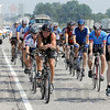 Tribune-Star/Jim Avelis<br /> Ride to remember: Police officers from around the state take part inthe C.O.P.S. ride. Seen here just north of Shelburn on US41, plans were to have lunch in Sullivan before continuing on.