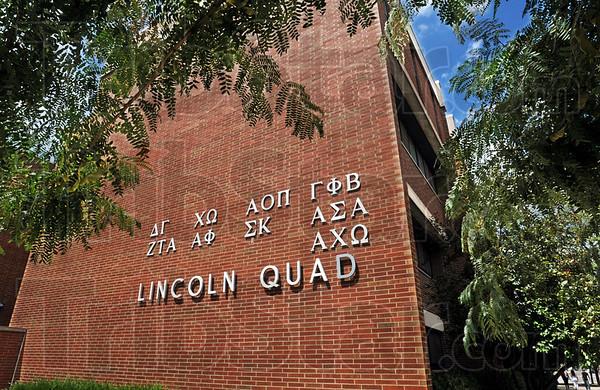 Sign: Lincoln Quad signage